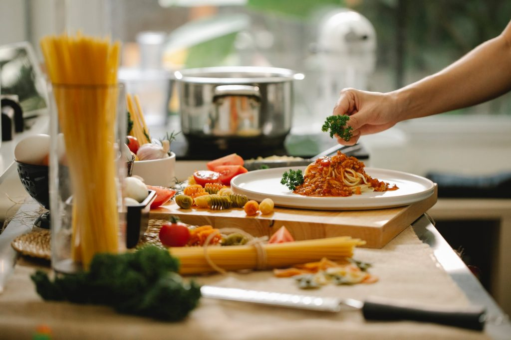 Italy is the leading producer and consumer of pasta