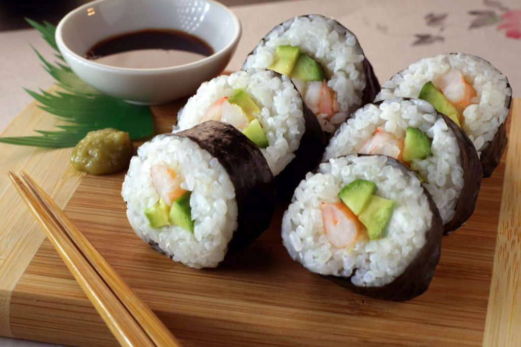 Sushi basically started as street food - interesting facts about sushi