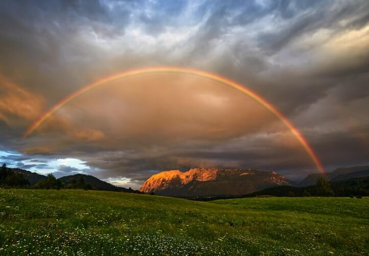 """Isaac Newton explained that rainbow had seven colors as he added indigo and orange colors. You can easily memorize the colors of rainbow by the term """"ROYGBIV""""; each alphabet refereeing to one color"""