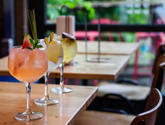 cocktails became popular as it was the easiest way to disguise the alcohol