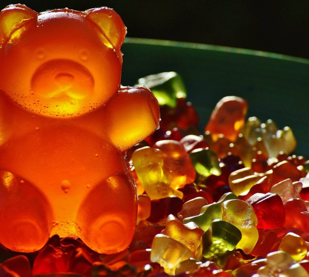 The lion of the candy world is the world's largest gummy bear