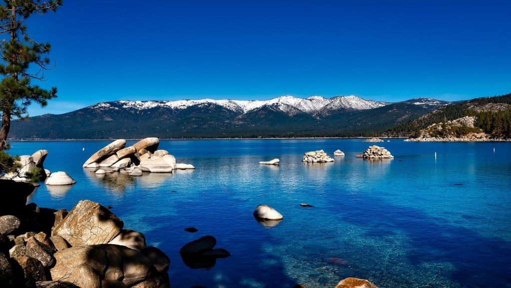 Lake Tahoe's water is one of the purest water